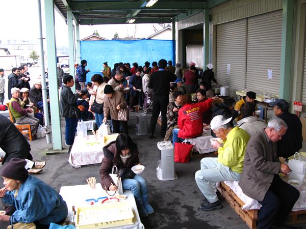石川の農家、和多農産の感謝祭