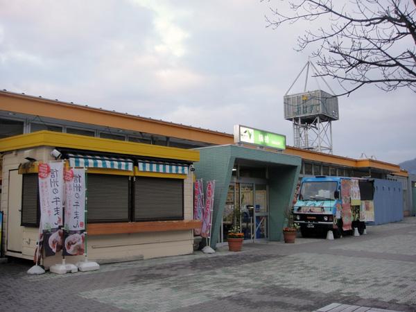 長野自動車道 下り 姥捨S.A.