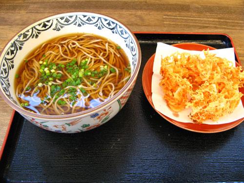 東名自動車道下り線小笠P.A.:蕎麦