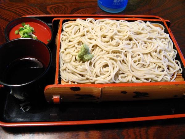 大石そば:蕎麦